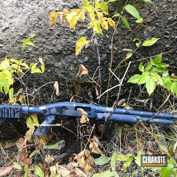 Cerakoted Urban Multicam Camo Finish On This Tactical Shotgun