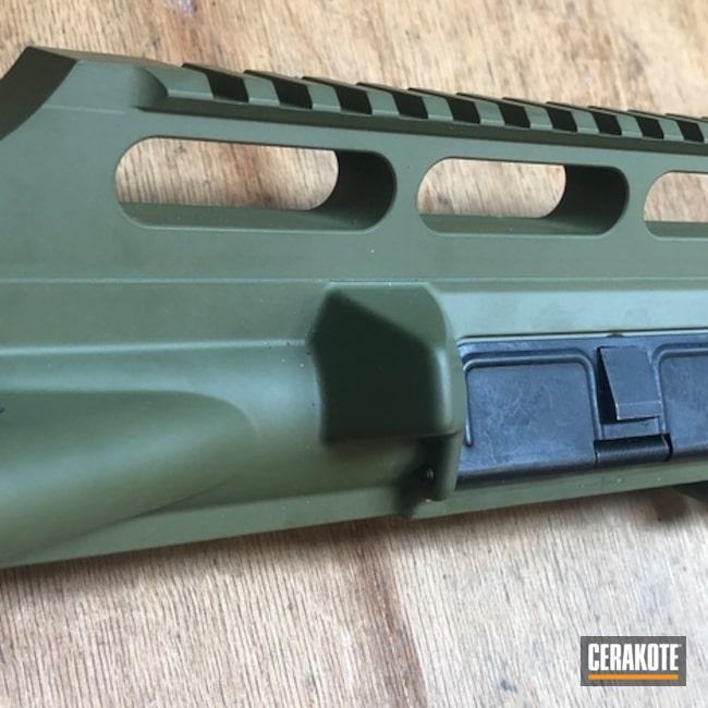 Cerakoted: SHOT,Gun Coatings,Noveske Bazooka Green H-189,350 Legend,Complete Upper,Rock River Arms