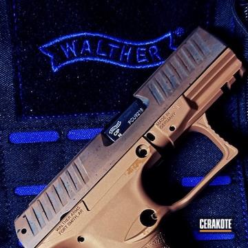 Cerakoted Cerakote Patina Finish On This Walther Ppq Handgun