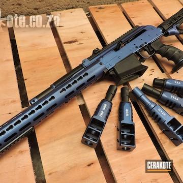 Cerakoted Davin Giles' 2019 Champs Rifle