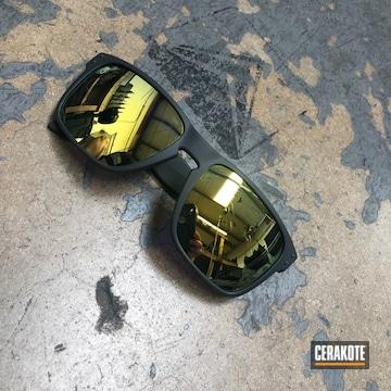 Cerakoted Oakley Sunglass Frames Cerakoted With H-304