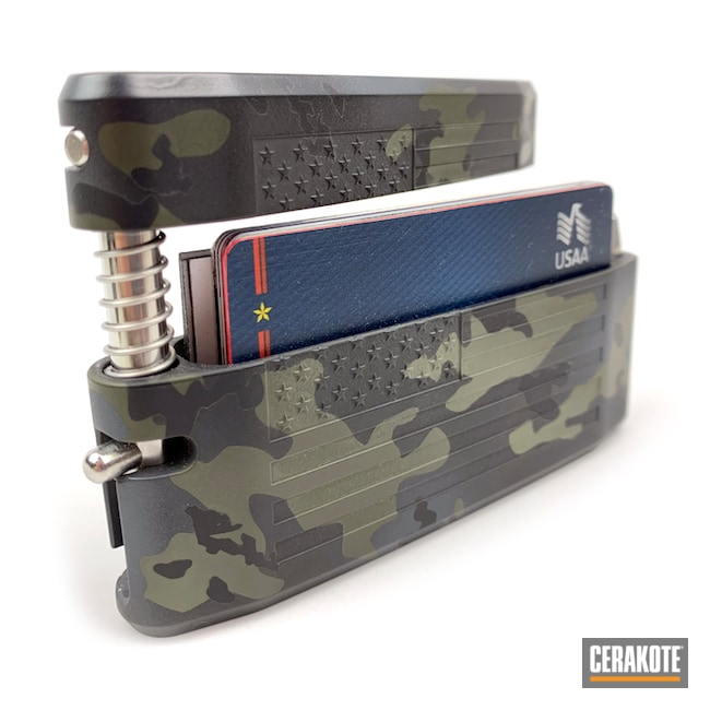 Cerakoted Multicam Black Cerakote Finish