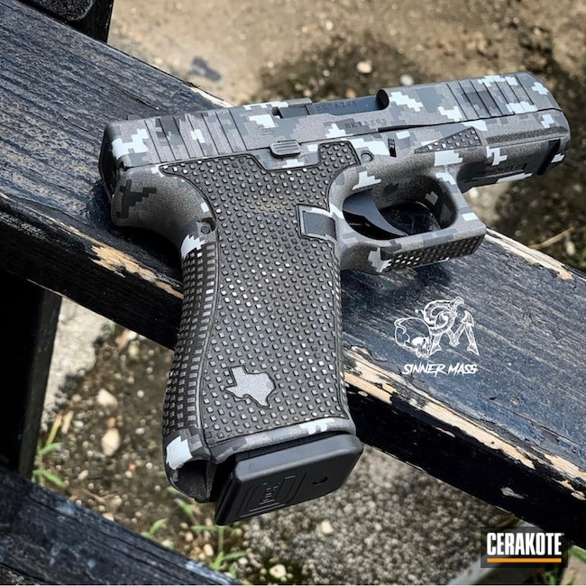 Glock 45 with Cerakote Digital MultiCam