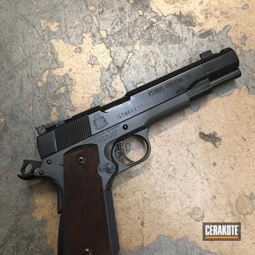 Cerakoted Springfield 1911 Handgun Cerakoted In E-100 And H-234