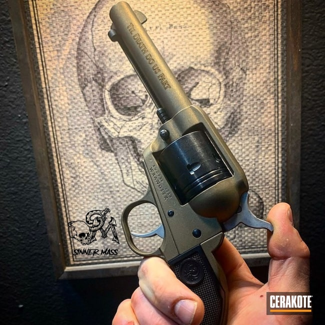 "Thumbnail image for project ""Ruger Revolver with Cerakote H-148"""