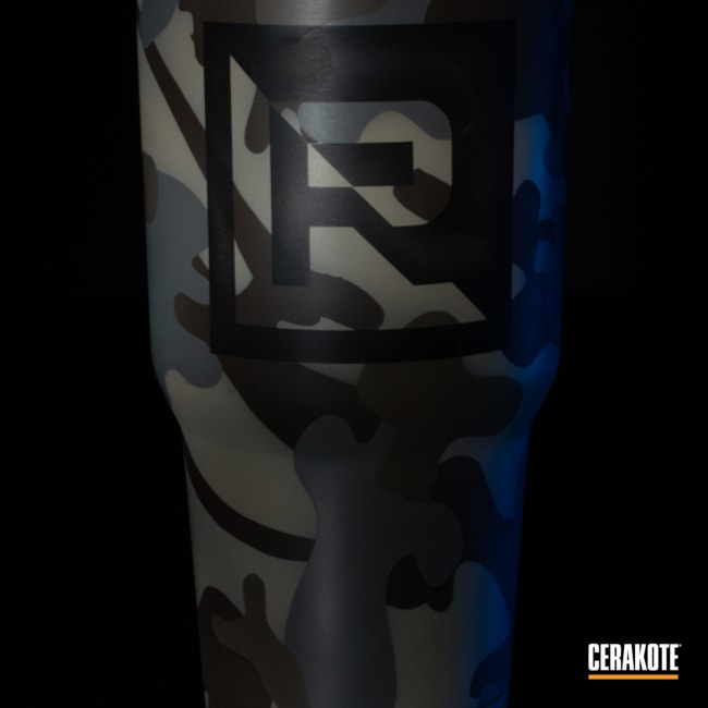 Cerakoted: FS BROWN SAND H-30372,MAGPUL® FLAT DARK EARTH H-267,Lifestyle,SMITH & WESSON® GREY H-214,Camo,Custom Tumbler Cup,Stainless Steel Cup,Custom Camo,Chocolate Brown H-258,Tumbler