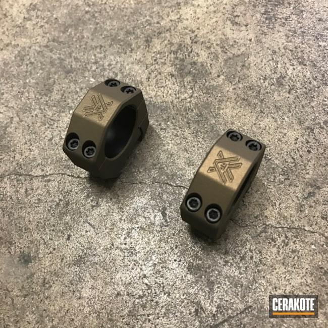 Cerakoted: SHOT,Vortex,Scope Mounts,Burnt Bronze H-148,Solid Tone,Gun Coatings