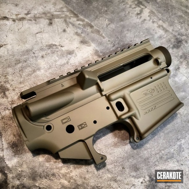 Cerakoted: SHOT,Aero Precision,Upper / Lower,Receiver,HAZEL GREEN H-204,Gun Coatings,AR-15