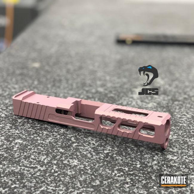 Cerakoted: SHOT,PINK CHAMPAGNE H-311,Solid Tone,Pistol,Gun Coatings,Slide