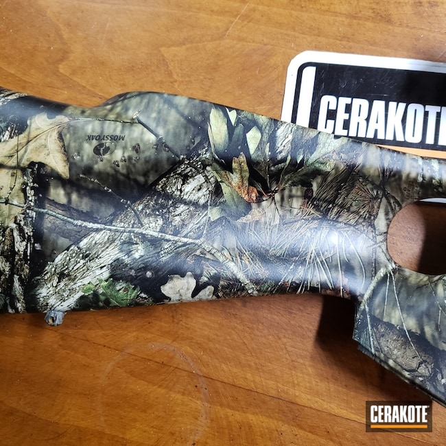 Cerakoted: S.H.O.T,Mossy Oak,Hydrographics,Muzzleloader/Black Powder,MATTE ARMOR CLEAR H-301,Gun Coatings