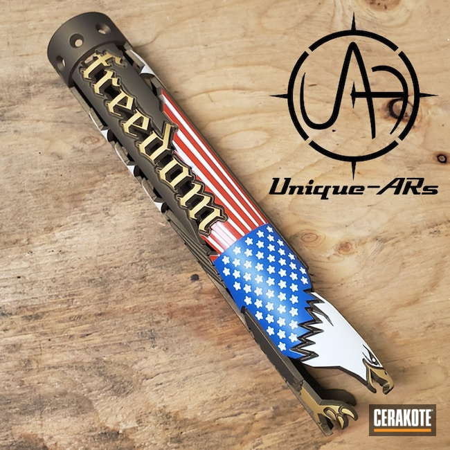 "Thumbnail image for project ""Freedom Handguard with Custom Cerakote Finish"""