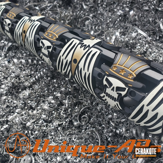 "Thumbnail image for project ""Custom Handguard Cerakoted with H-190, H-122 and H-136"""