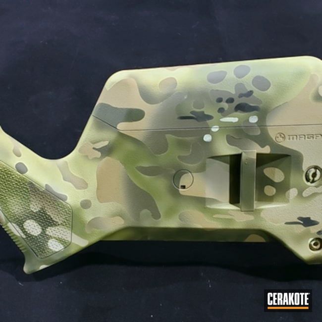"Thumbnail image for project ""Bolt ACtion Rifle with a Cerakote MultiCam Finish"""