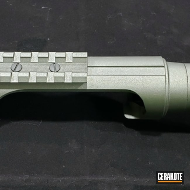 "Thumbnail image for project ""Benelli Super Black Eagle Barrel Cerakoted with H-237 Tungsten"""