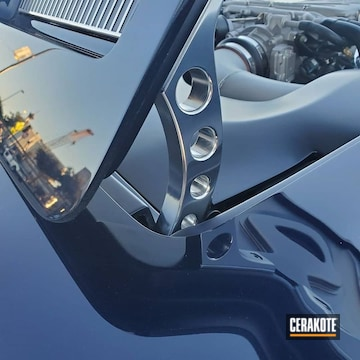 Cerakoted Chevy Corvette Hood Hinges Cerakoted With Mc-5100