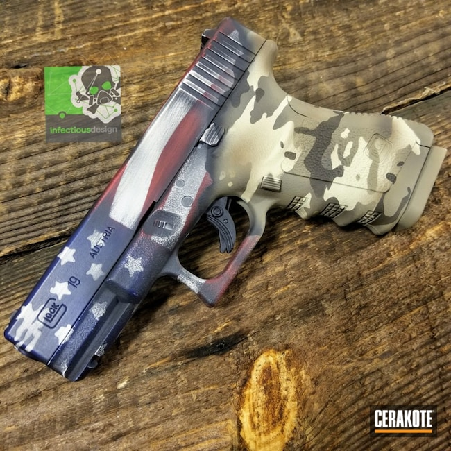 "Thumbnail image for project ""Military Themed American Flag Cerakote Finish"""
