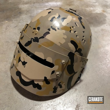 Cerakoted Flecktarn Camo Cerakote Finish