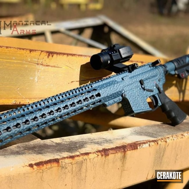 "Thumbnail image for project ""AR-15 with a Cerakote H-185 Blue Titanium Finish"""