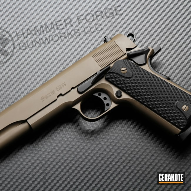 Para 1911 Handgun Finished with Cerakote H-267