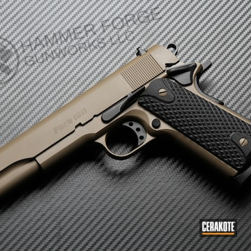 Cerakoted Para 1911 Handgun Finished With Cerakote H-267