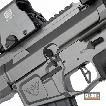 Cerakoted Ar Pistol Cerakoted With E-160 And H-146