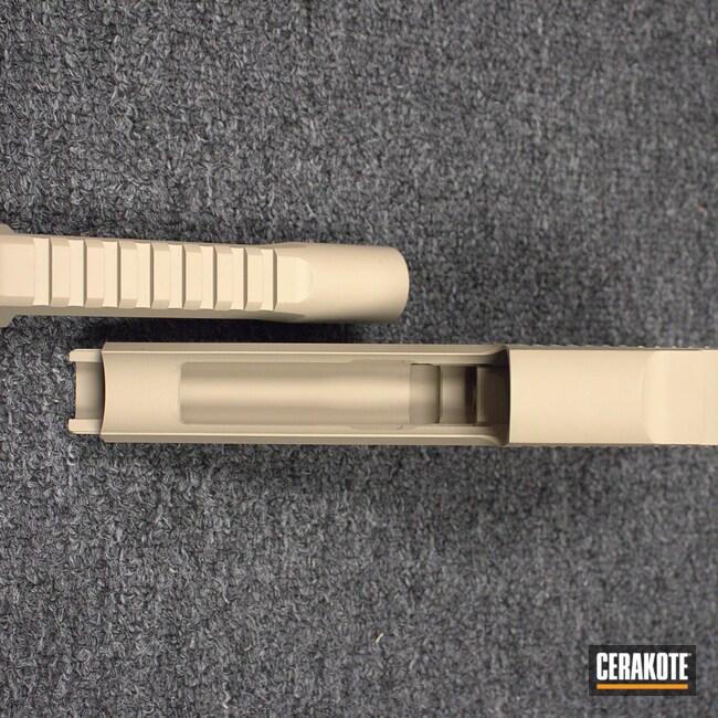 Cerakoted: SHOT,Desert Eagle,.50 cal,Desert Sand H-199,Solid Tone,Pistol,Gun Coatings