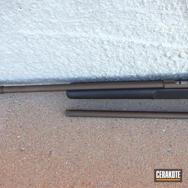 Cerakoted: SHOT,CZ 527,Shotgun,Burnt Bronze H-148,CZ,Gun Coatings