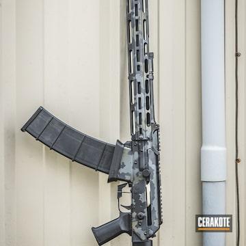 Cerakoted Cerakote Multicam Finish On This Ar Tactical Shotgun