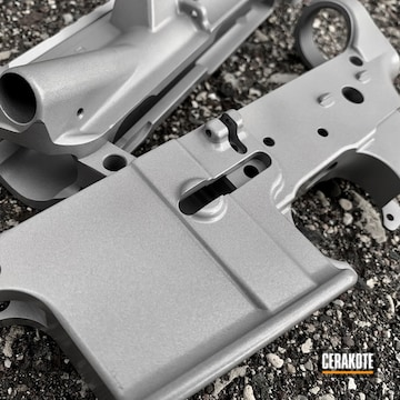 Cerakoted Ar Upper / Lower Receiver Cerakoted With H-301