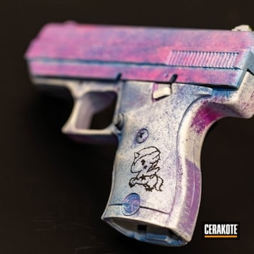 Cerakoted Hi-point Handgun With Custom Cerakote Finish