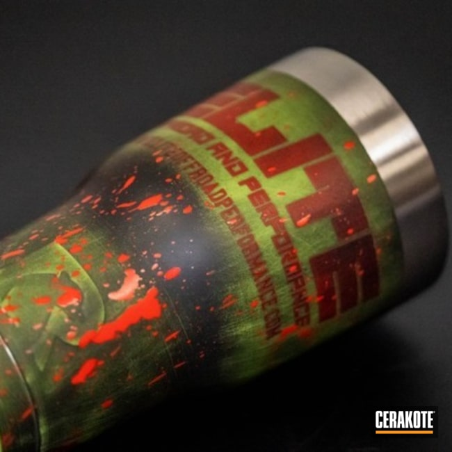 "Thumbnail image for project ""Custom Zombie Apocalypse Themed RTIC Tumbler Cups"""