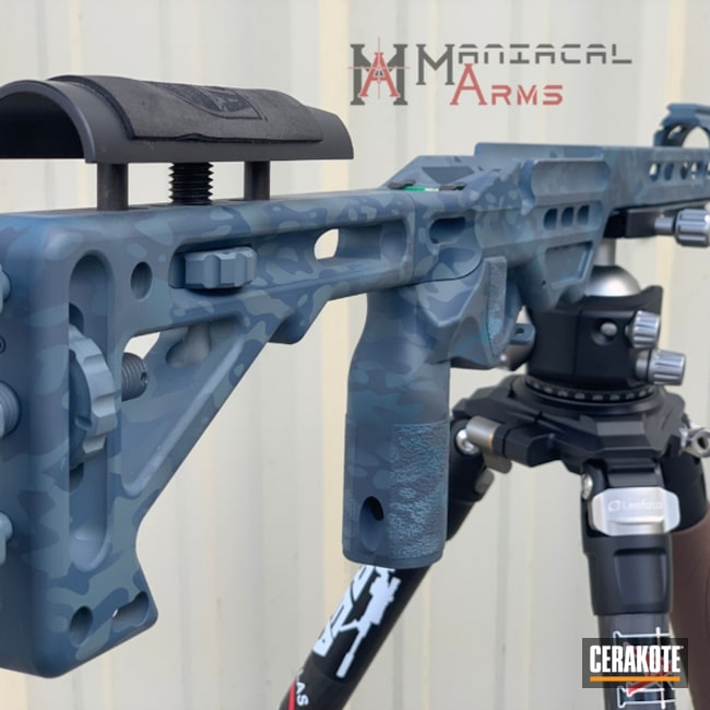 MPA Rifle Chassis with a Cerakote Urban MultiCam Finish