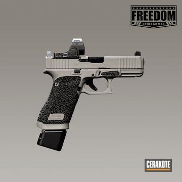 Cerakoted Glock 45 Handgun Cerakoted With H-265, H-139 And H-236
