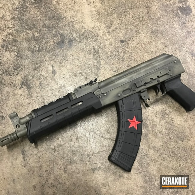 "Thumbnail image for project ""AK Rifle with a Custom Soviet Themed Cerakote Finish"""