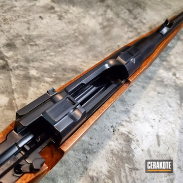 Cerakoted Ruger M77 Rifle Cerakoted With H-238 For Coastal Corrosion Protection