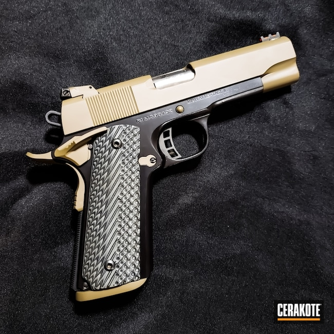 H-146 and H-265 Cerakote Two Tone 1911 Handgun