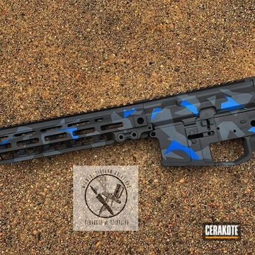 Cerakoted Cerakote Urban Splinter Camo Finish