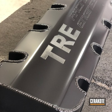 Cerakoted Tre Racing Engine Cover Cerakoted With H-109 Gloss Black