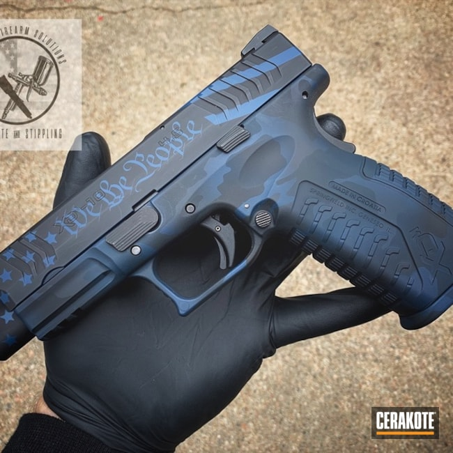 "Thumbnail image for project ""Cerakoted Springfield XD Handgun using H-146 and H-171"""