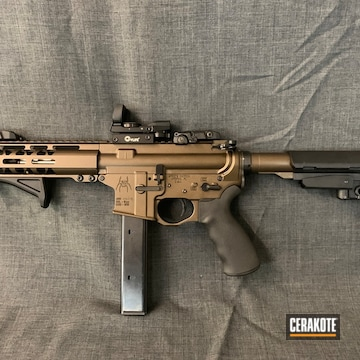 Cerakoted Spike's Tactical Ar Pistol With A H-294 Cerakote Finish