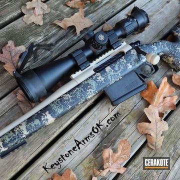 Cerakoted Cerakote H-199 And H-247 Finish On This Custom Bolt Action Rifle