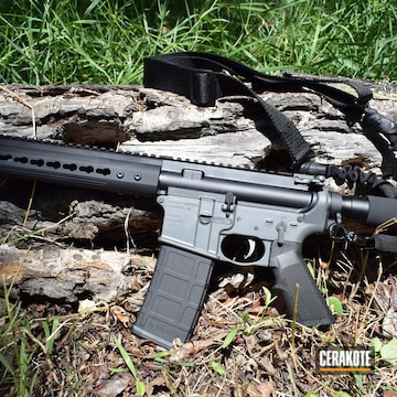 Cerakoted Noreen Firearms Ar-15 Cerakoted With E-160 Concrete