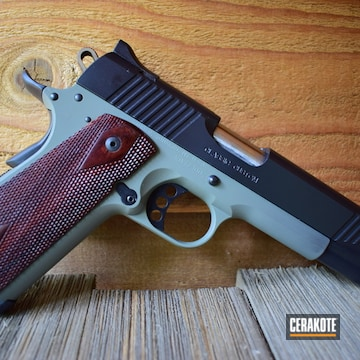 Cerakoted Kimber 1911 Custom Ii Cerakoted With E-100 And E-140