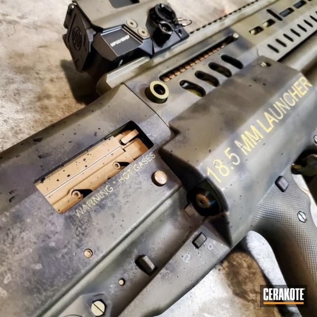 Cerakoted: S.H.O.T,MAGPUL® STEALTH GREY H-188,Distressed,Zombie Green H-168,Tactical Rifle,Noveske Bazooka Green H-189,Alien Theme,Zombie Apocalypse,Sig Sauer Romeo 8,IWI TS12,Sci-Fi,Tactical Shotgun,Shotgun,Bullpup,Battleworn,MAD Max,Mil Spec O.D. Green H-240,Aliens,IWI,Gun Coatings,Theme