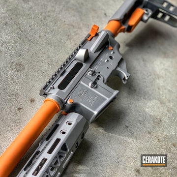 Cerakoted Palmetto State Armory Ar-15 Cerakoted With H-152 And H-309