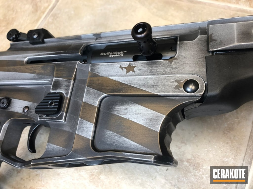 Rock Island Armory Vr80 Shotgun With A Distressed American Flag Finish By Web User Cerakote Thanks for rock island armory. rock island armory vr80 shotgun with a