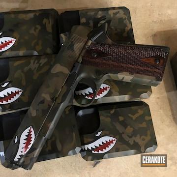 Cerakoted Cerakote Shark Mouth And Multicam Finish