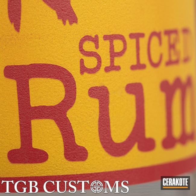 Cerakoted: Glass Bottle,Custom Logo,HABANERO RED H-318,More Than Guns,SUNFLOWER H-317,Miscellaneous