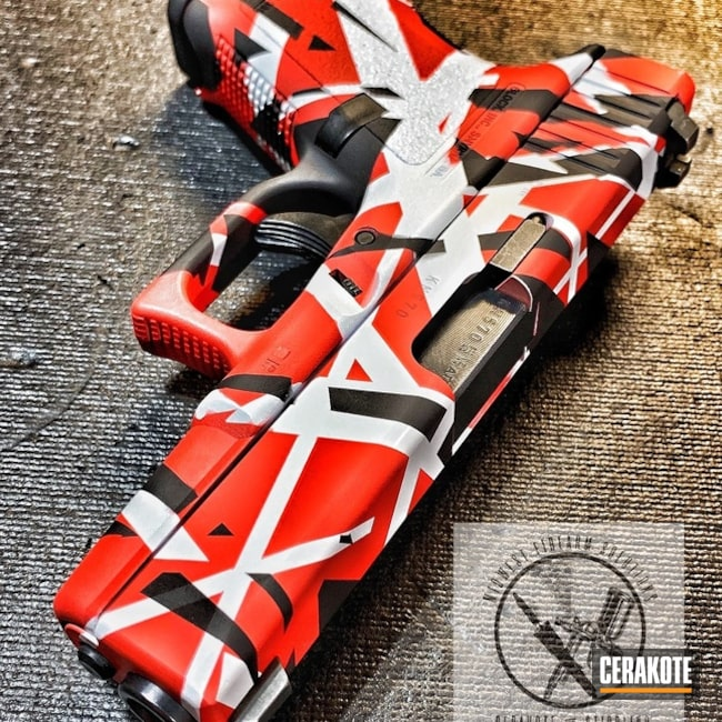 "Thumbnail image for project ""Eddie Van Halen Themed Glock Handgun"""