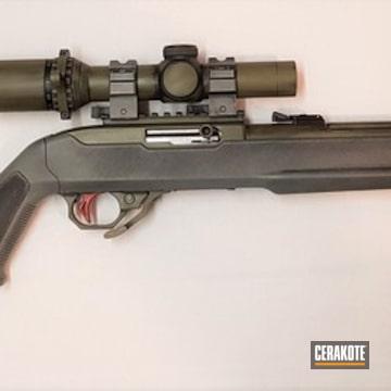 Cerakoted Star Wars Mandalorian Themed Ruger 10/22 Rifle